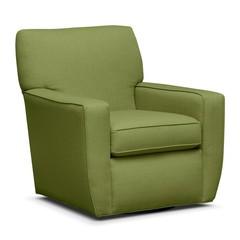 Зеленый уютный стул