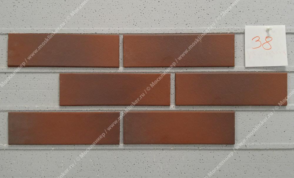 ABC - Naturbrand, glatt, 240х71х8, NF - Клинкерная плитка для фасада и внутренней отделки