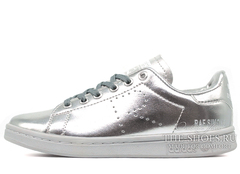Кроссовки Женские Adidas Originals X Raf Simons Stan Smith Silver