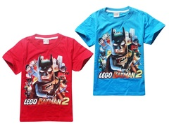 Бэтмен Лего футболка детская