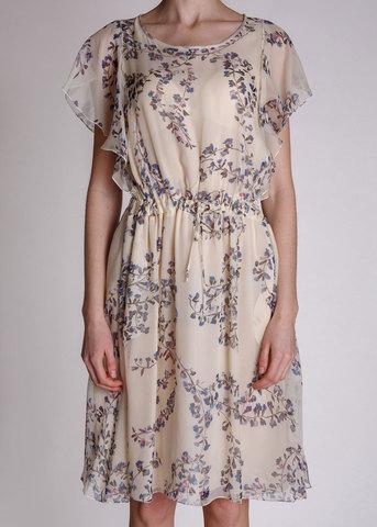 Платье из шелка LES COPAINS