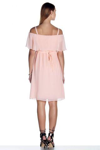 Платье 08497 розовый