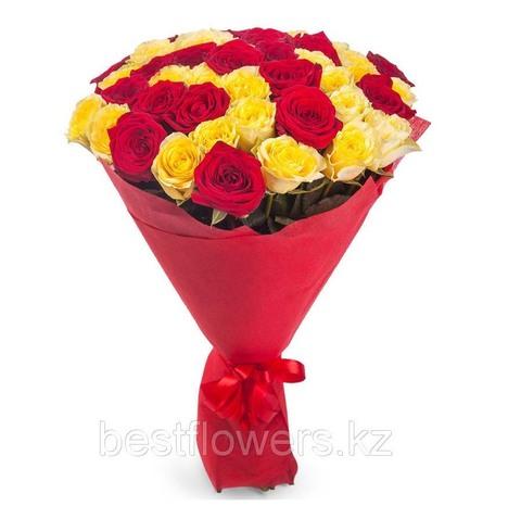 Букет из 45 роз