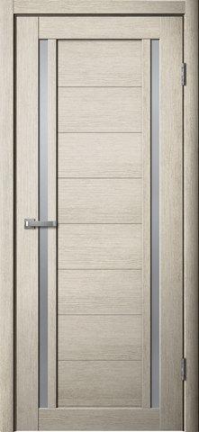Дверь Porte line Берлин 23, стекло матовое, цвет ясень 3D, остекленная