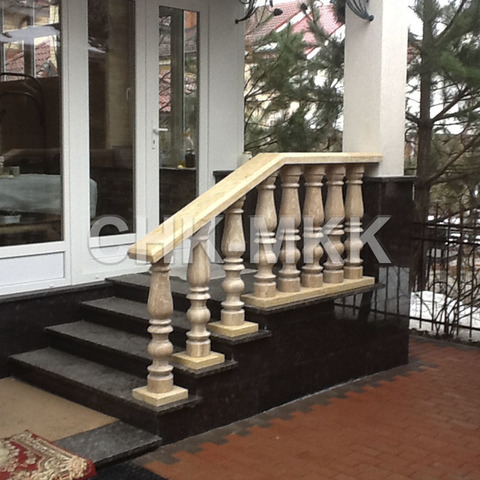 Лестница №10 мрамор Крема Нова