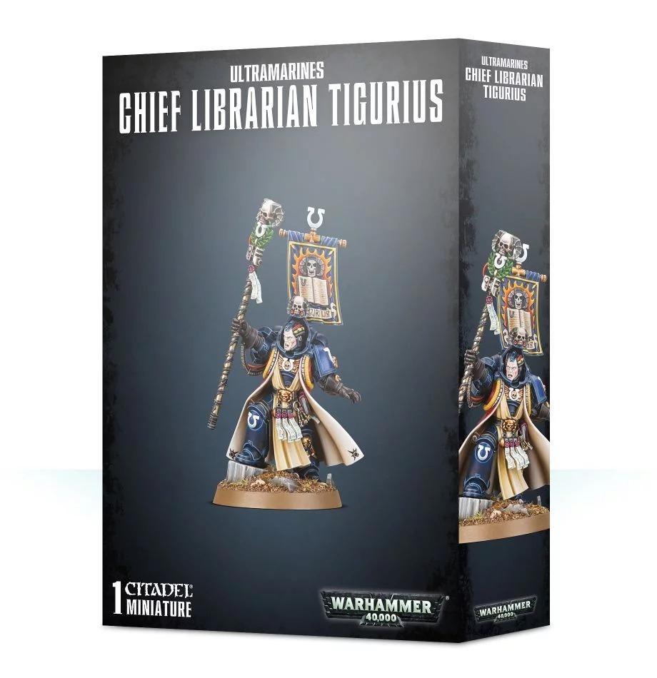 Ultramarines Chief Librarian Tigurius (2019)