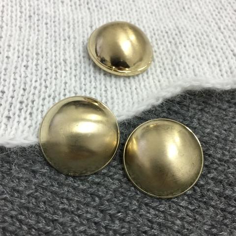 Пуговица сток Max Mara металл 25 мм золото