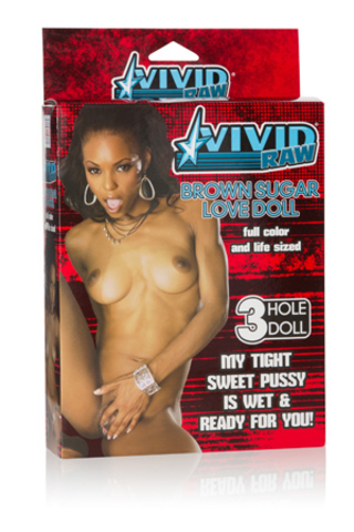 Vivid Raw® Brown Sugar Love Doll - Brown фото