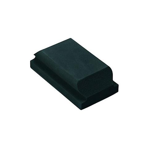 Брусок шлифовальный пенополиуретановый мягкий SISTAR 70x125x49 мм, крепление
