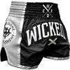 Шорты Wicked One W.O.T. Black/Silver