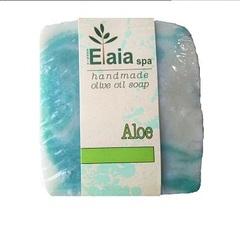 Греческое мыло ручной работы Алоэ Elaia spa 100 гр