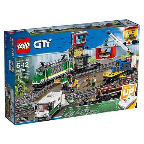 LEGO City: Товарный поезд 60198 — Cargo Train — Лего Сити Город