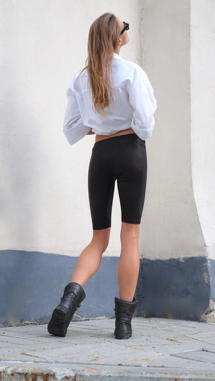 Велосипедки НЕВЕРОЯТНО Glam black