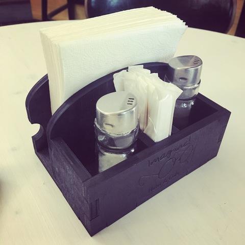 Подставка для специй, салфеток и зубочисток №1
