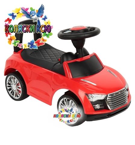 Машина-каталка Audi красный