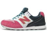 Кроссовки Женские New Balance 996 Pink White Dark Grey