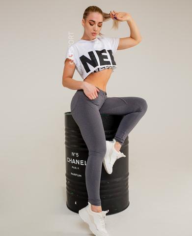Женские брюки Nebbia Bubble butt 253 Grey