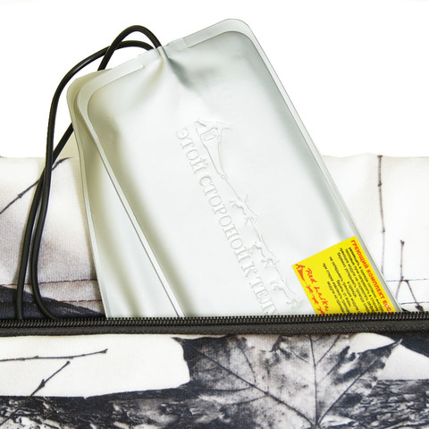 Охотничья муфта с подогревом RedLaika RL-P-M03 (Белый лес, USB)