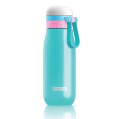Бутылка вакуумная из нержавеющей стали 500мл бирюзовая Zoku