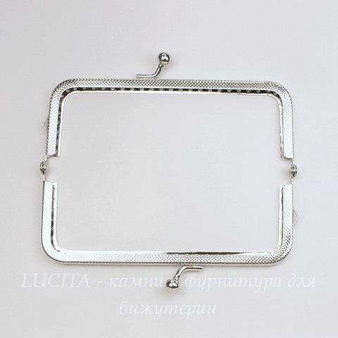 Фермуар 12,8х6,5 см (цвет - античное серебро)