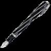 перьевая ручка visconti salvador dali темно синий перо m vs 664 18m Перьевая ручка Visconti Divina Black Over черн смола ребра сер 925 пал 23 (Vs-263-98M)