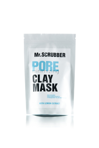 Маска для лица сужающая поры Mr. Scrubber Pore Minimizing Clay Mask