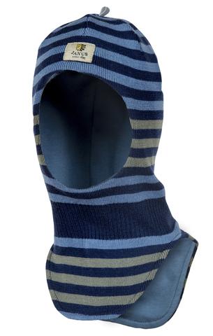 Janus шапка -  шлем из шерсти мериноса на хлопковой подкладке