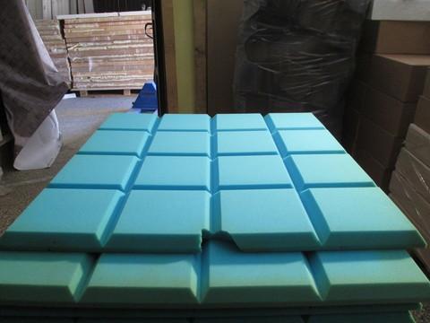 Акустический поролон Echoton Grid синий - 2 шт.