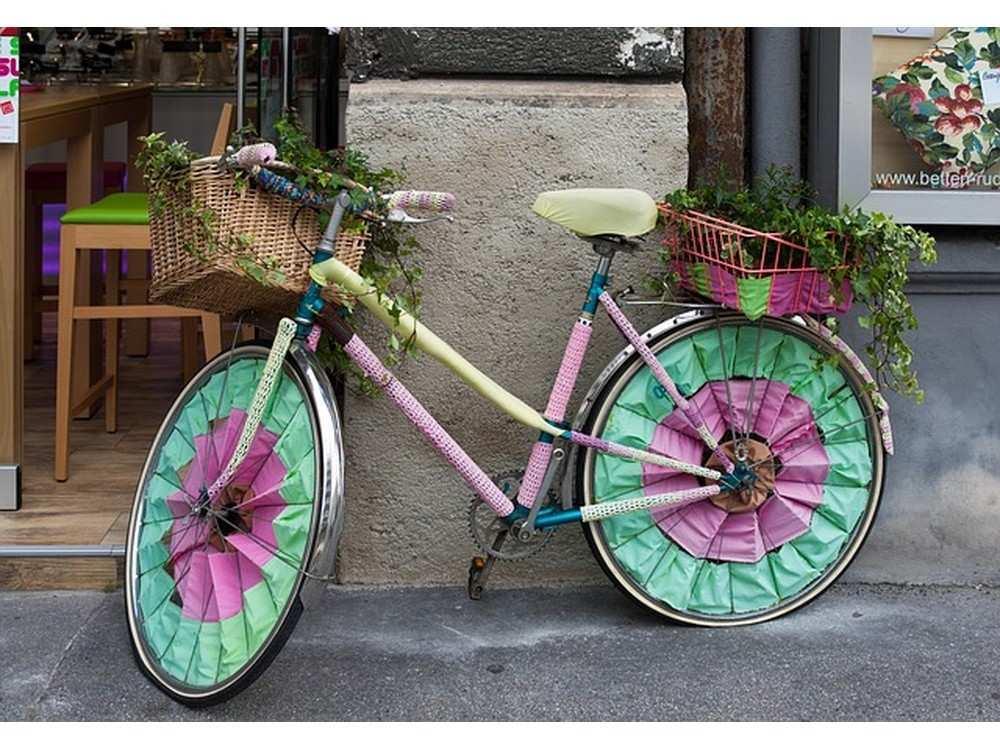 Цветной велосипед -раскраски по номерам | Colorkit ...