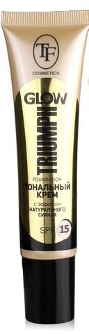 Triumph Крем тональный GLOW TRIUMPH FOUNDATION 205 теплый беж CTW22