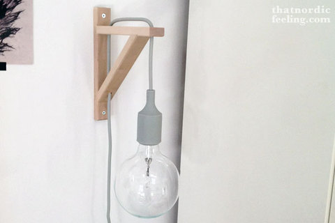 replica wall lamp MUUTO E27 by  Mattias Stahlbom ( white )