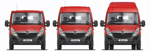 Renault Master X70 FWD, Opel Movano X70 FWD, Nissan Interstar X70 FWD с задней пневмоподвеской