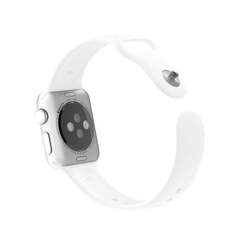 Apple Watch Sport, White Band