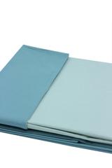Постельное белье 2 спальное евро Caleffi Bicolor голубое