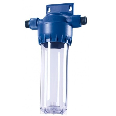 Прозрачный корпус предфильтра Аквафор для холодной воды