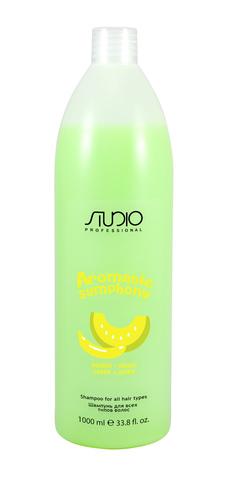 Шампунь для всех типов волос Банан и дыня,Kapous Aromatic,1000 мл
