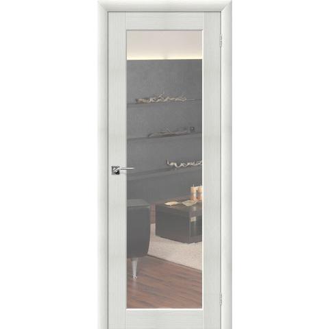 Аква Дверь 7 Bianco Veralinga с зеркалом с одной стороны
