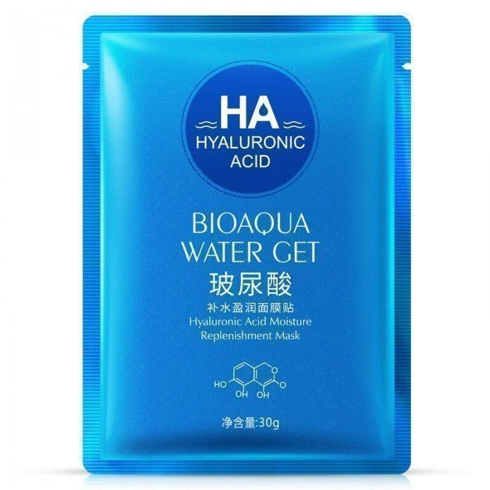 Bioaqua Маска с Гиалуроновой кислотой Hyaluronic Acid Water Get Mask