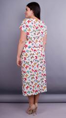 Мрия. Нежное женское платье плюс сайз. Бабочки.