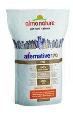 Корм для собак средних и крупных пород, Almo Nature Alternative 170 Chicken and Rice M-L, со свежим цыпленком и рисом (75% мяса)