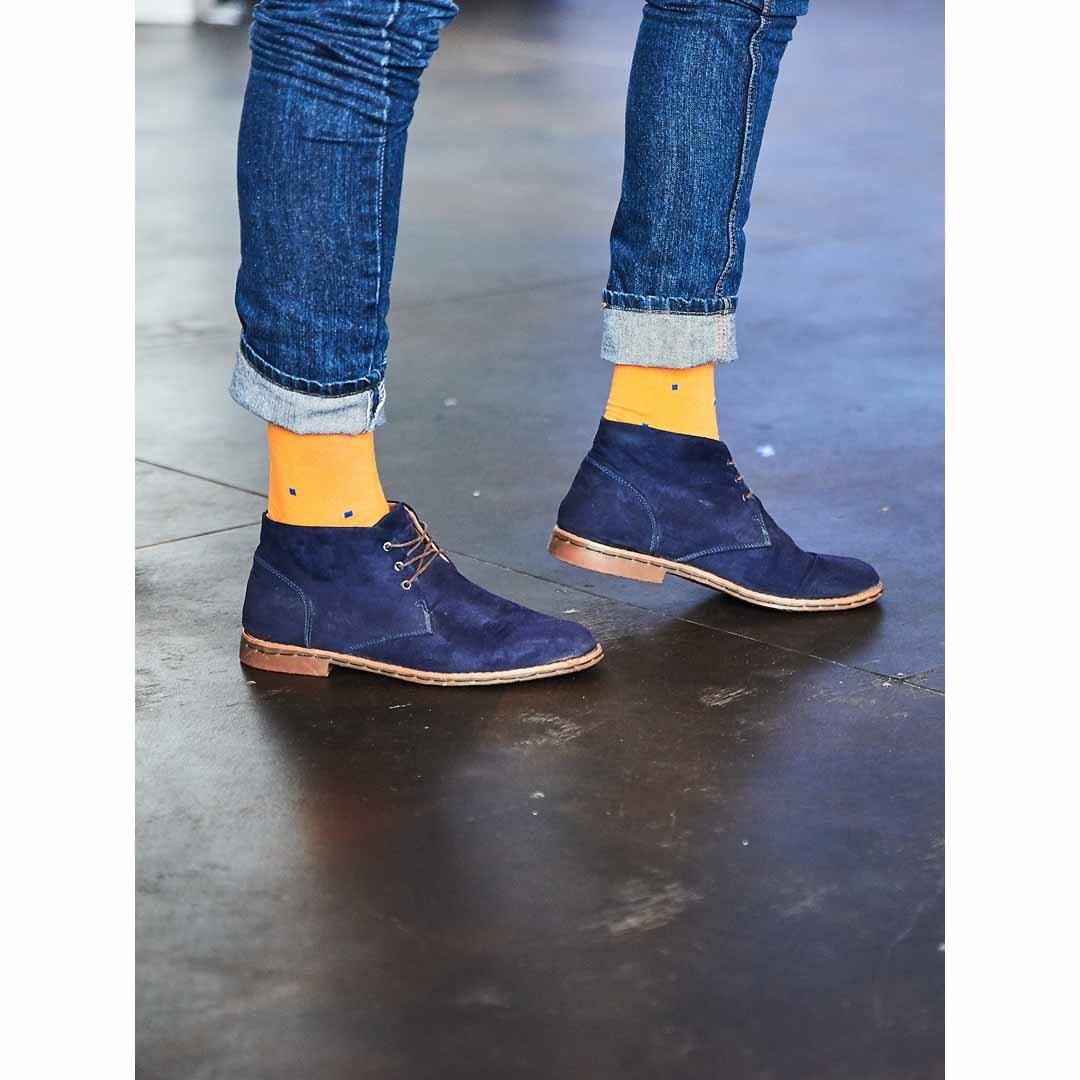 Желтые мужские носки Marrey Art Of Color