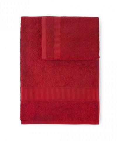 Набор полотенец 2 шт Caleffi Calypso красный