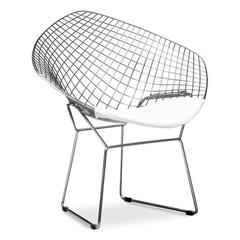 Современный металлический стул