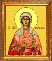 Касиния Анкирская мученица. Икона на холсте.