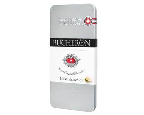 Молочный шоколад с фисташками Bucheron