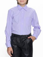 873-7 рубашка для мальчиков, светло-сиреневая