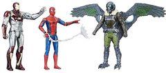 Набор из 3 фигурок Человек паук, Железный человек и Стервятник - Marvel Legends, Hasbro