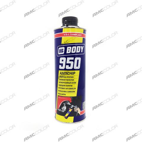 Антигр. покрытие Body 950 черное 1л