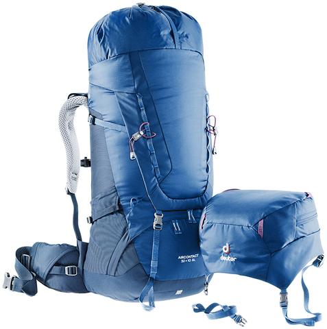Картинка рюкзак туристический Deuter Aircontact 75+10 midnight-navy