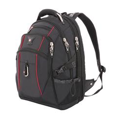 """Рюкзак Swissgear 15"""", чёрный/красный, 34x23x48 см, 38 л"""